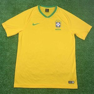 NIKE 2018 BRAZIL WORLD CUP HOME SOCCER SHIRT